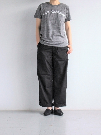 BRENA COQ PANTS - COTTON & LINEN WASHER KERSEY_b0139281_12190869.jpg