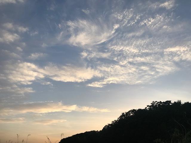 きれいな夕陽を見ながら♪_f0242002_17194863.jpg