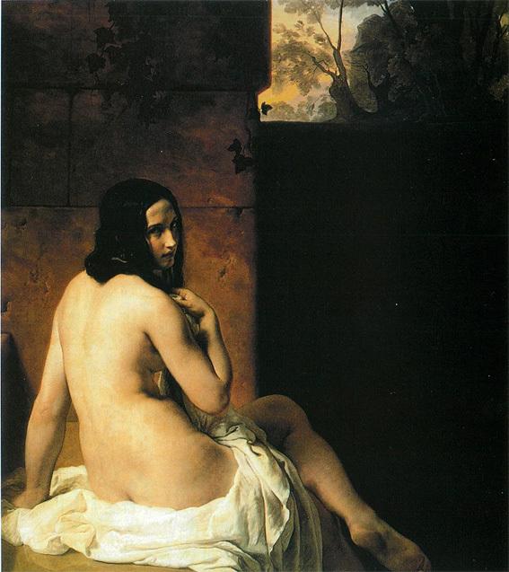 ■「日用品ではないキス」の画家フランチェスコ・アイエツ、それに週替わりの夕暮れ[5/17]_d0190217_10200442.jpg