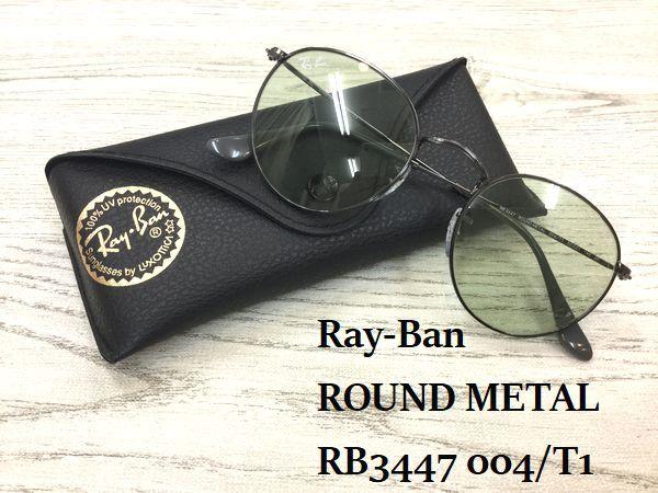 Ray-Ban キムタク着用最新モデルサングラス RB3447 004/T1 入荷しました! by甲府店・塩山店_f0076925_14553579.jpg