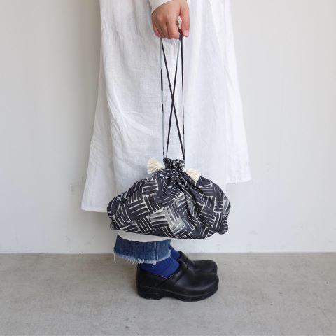 Suno&Morrison : Cotton Silk Drawstring Bag_a0234452_15155704.jpg