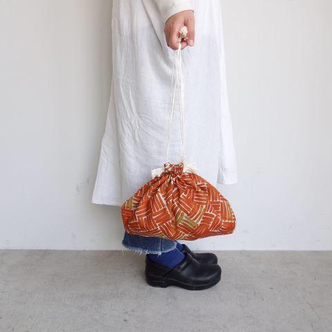 Suno&Morrison : Cotton Silk Drawstring Bag_a0234452_15160082.jpg