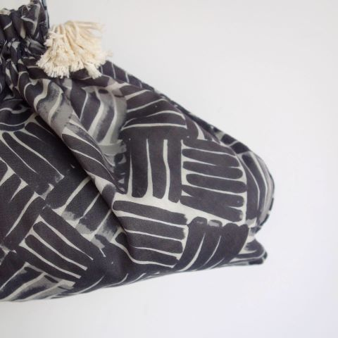 Suno&Morrison : Cotton Silk Drawstring Bag_a0234452_15160449.jpg
