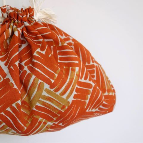 Suno&Morrison : Cotton Silk Drawstring Bag_a0234452_15160840.jpg