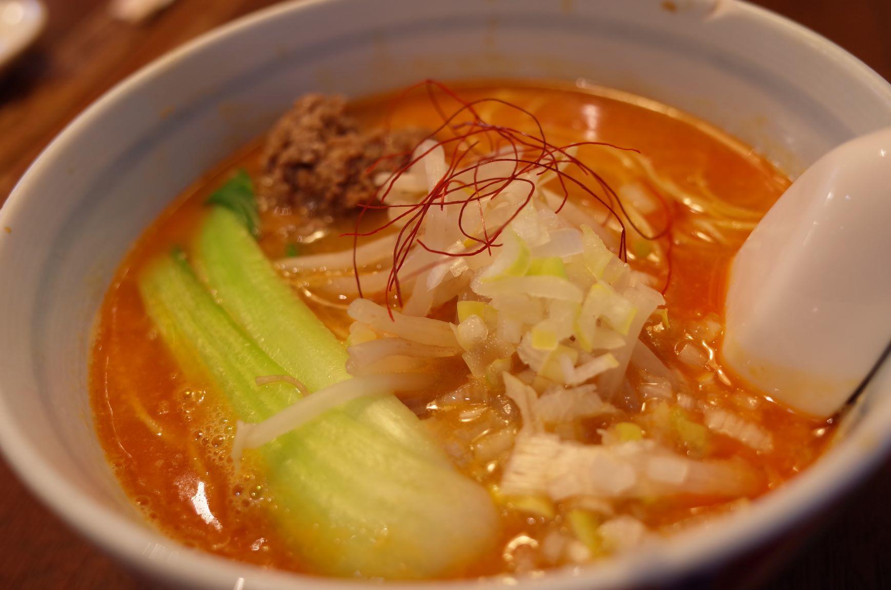 エア外食(担々麺)【アーカイブ】_d0389370_22311658.jpg
