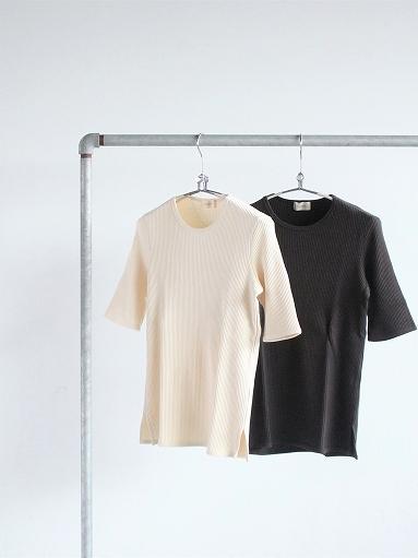 THE HINOKI オーガニックコットン 針抜きスムース Tシャツ (LADIES ONLY)_b0139281_16533438.jpg