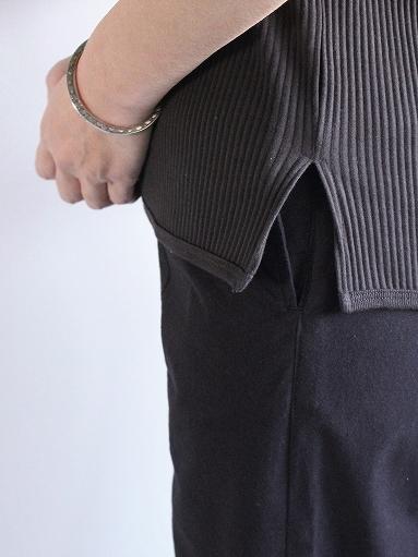 THE HINOKI オーガニックコットン 針抜きスムース Tシャツ (LADIES ONLY)_b0139281_16533521.jpg