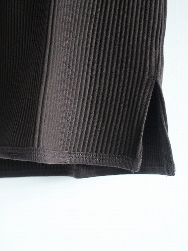 THE HINOKI オーガニックコットン 針抜きスムース Tシャツ (LADIES ONLY)_b0139281_16533522.jpg