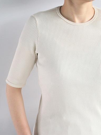 THE HINOKI オーガニックコットン 針抜きスムース Tシャツ (LADIES ONLY)_b0139281_16533549.jpg