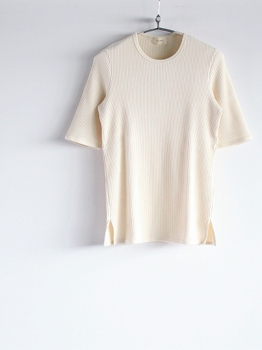 THE HINOKI オーガニックコットン 針抜きスムース Tシャツ (LADIES ONLY)_b0139281_16533568.jpg