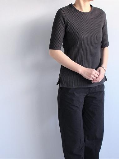 THE HINOKI オーガニックコットン 針抜きスムース Tシャツ (LADIES ONLY)_b0139281_16533575.jpg