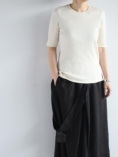 THE HINOKI オーガニックコットン 針抜きスムース Tシャツ (LADIES ONLY)_b0139281_16550698.jpg