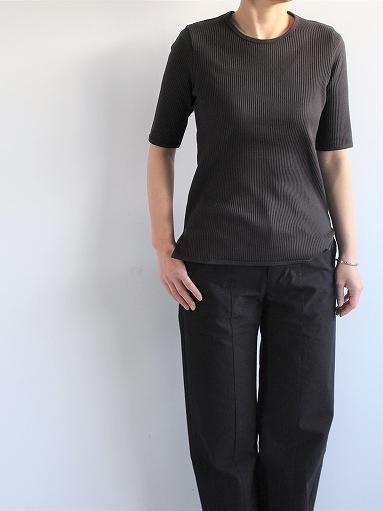 THE HINOKI オーガニックコットン 針抜きスムース Tシャツ (LADIES ONLY)_b0139281_16571239.jpg
