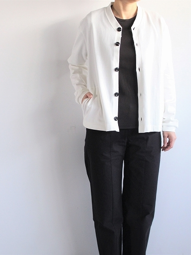 THE HINOKI オーガニックコットン 針抜きスムース Tシャツ (LADIES ONLY)_b0139281_16571276.jpg