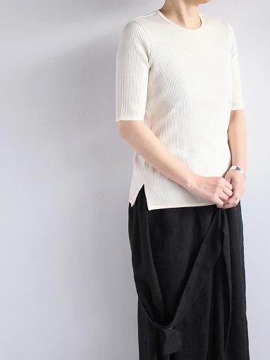 THE HINOKI オーガニックコットン 針抜きスムース Tシャツ (LADIES ONLY)_b0139281_16571284.jpg