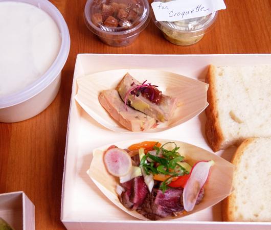 NYの和食レストラン、ミフネ(MIFUNE)初の宅配セット、特製ちらし寿司うに・まぐろ追加トッピング・バージョン_b0007805_03361147.jpg