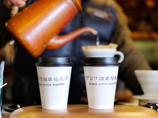 「千葉・館山 ブロワ珈琲焙煎所のカフェ・ラテ」