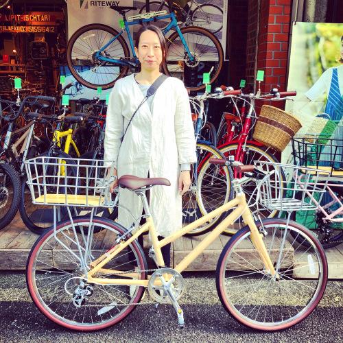 ライトウェイ特集☆自転車女子 自転車ガール 自転車ボーイ クロスバイク ライトウェイ おしゃれ自転車 マリン ターン シェファード パスチャー スタイルス_b0212032_15543197.jpeg
