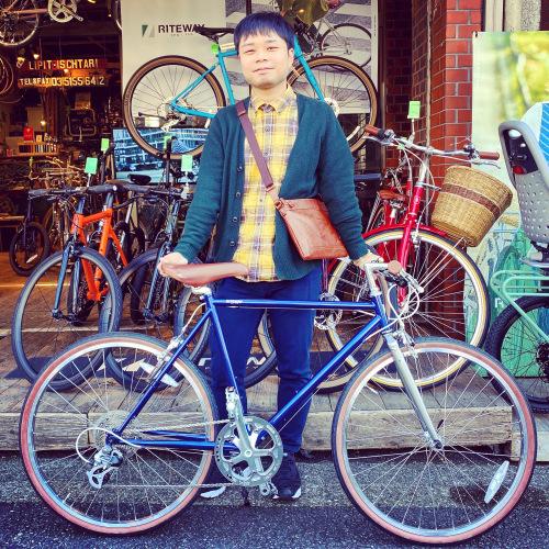 ライトウェイ特集☆自転車女子 自転車ガール 自転車ボーイ クロスバイク ライトウェイ おしゃれ自転車 マリン ターン シェファード パスチャー スタイルス_b0212032_15561106.jpeg