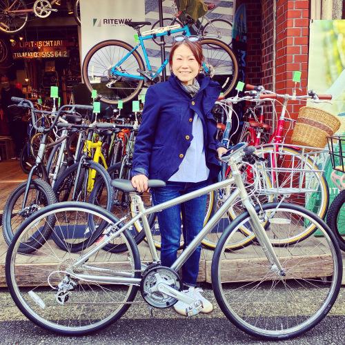 ライトウェイ特集☆自転車女子 自転車ガール 自転車ボーイ クロスバイク ライトウェイ おしゃれ自転車 マリン ターン シェファード パスチャー スタイルス_b0212032_15562753.jpeg