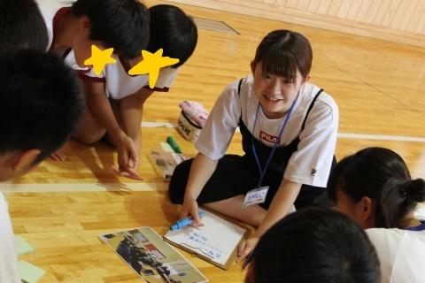 長岡市立川口中学校においてワークショップを行いました_c0167632_12243394.jpg