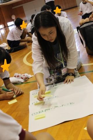 長岡市立川口中学校においてワークショップを行いました_c0167632_12280577.jpg