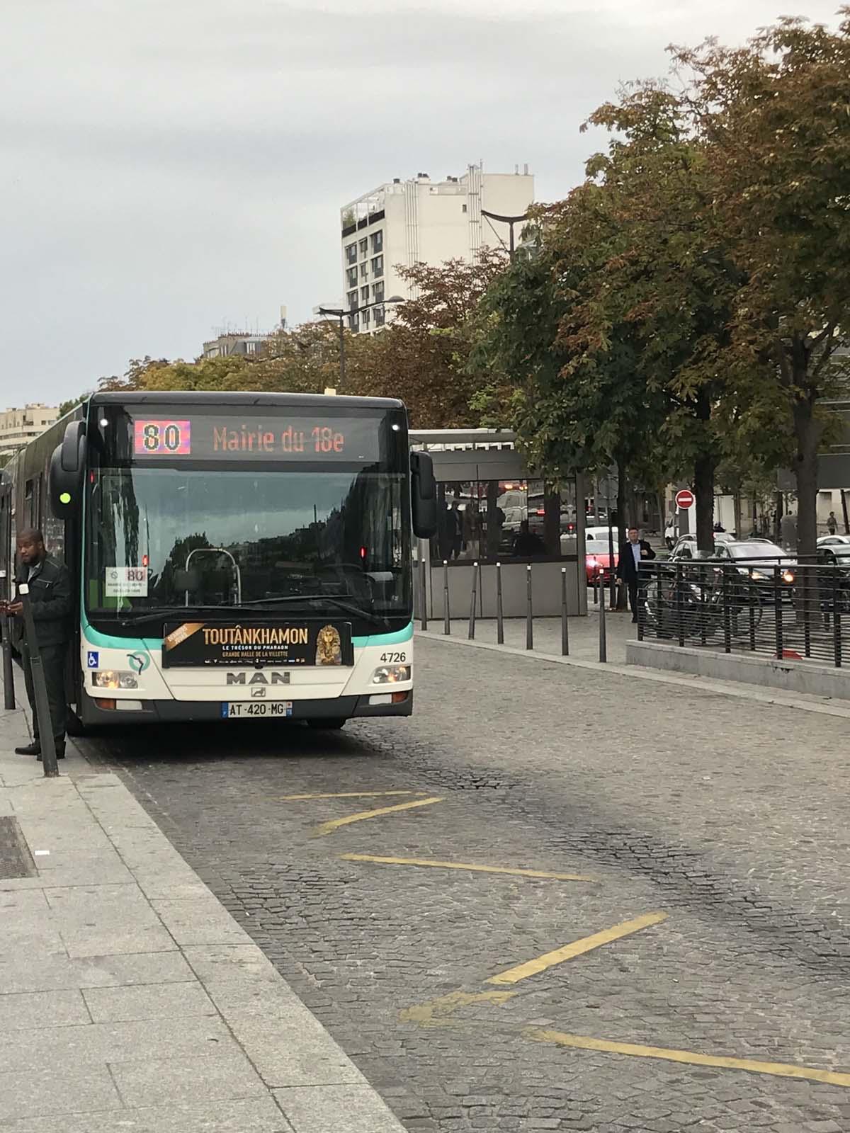 Paris パリ バス80番の旅_c0176078_13162810.jpg