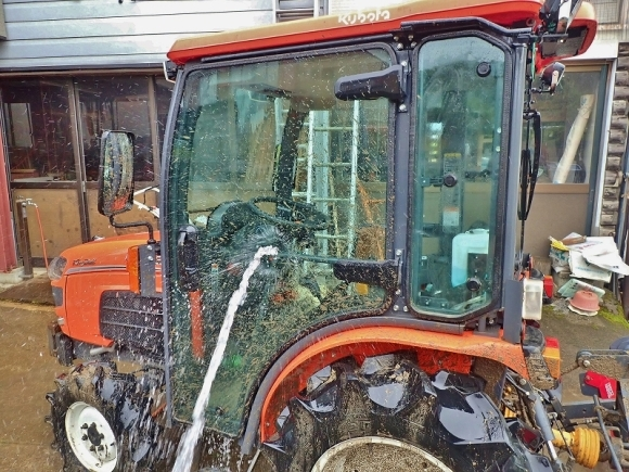 土曜日、兼業農家は「田掻き作業」でした_c0336902_20085602.jpg