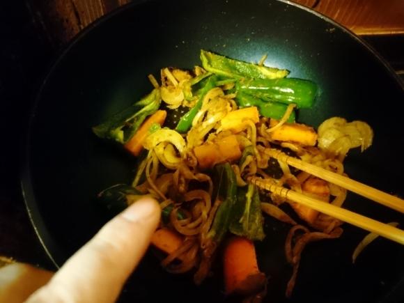スープカレーを作ってみた。_d0256914_20072748.jpg