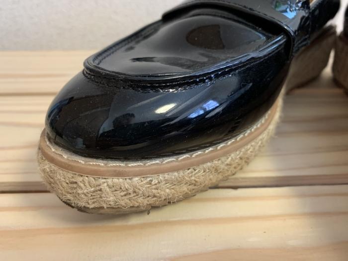 【おうちで靴磨き】エナメルの傷に見える汚れ、あきらめる前に_b0226322_14334548.jpg