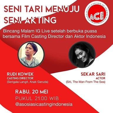 インドネシアの女優・Sekar Sariさんのトークライブ:Seni Tari Menuju Seni Akting 5/20_a0054926_20064156.jpg
