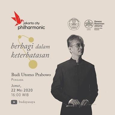 """ジャカルタ・シティ・フィルハーモニックのオンラインコンサート:\""""Berbagi dalam Keterbatasan\"""" 5/22 指揮:Budi Utomo Prabowo_a0054926_20224158.jpg"""