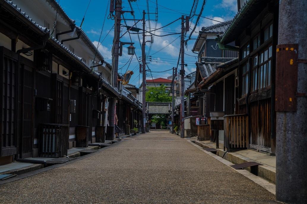 レトロな町並み今井町_e0363038_13144759.jpg