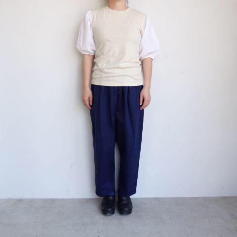 KROMALUDI : Gara-bow×Khadi T-shirts_a0234452_13265251.jpg