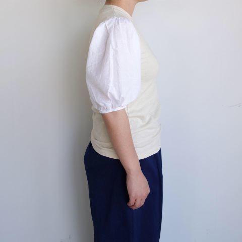 KROMALUDI : Gara-bow×Khadi T-shirts_a0234452_13265822.jpg