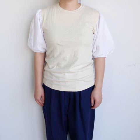 KROMALUDI : Gara-bow×Khadi T-shirts_a0234452_13270253.jpg