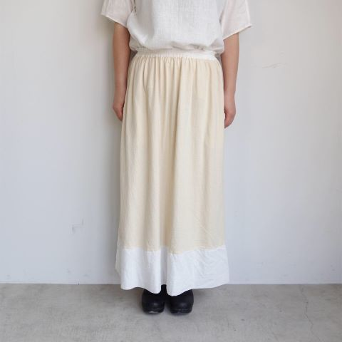 KROMALUDI : Gara-bow×Khadi Skirt_a0234452_14103773.jpg