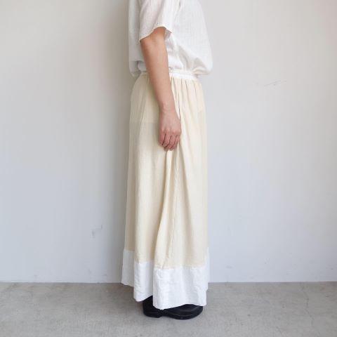 KROMALUDI : Gara-bow×Khadi Skirt_a0234452_14104033.jpg
