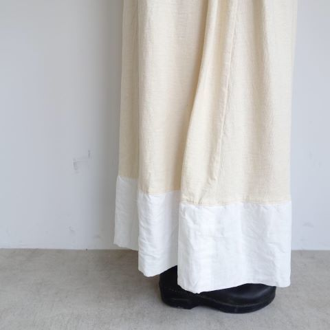 KROMALUDI : Gara-bow×Khadi Skirt_a0234452_14105648.jpg