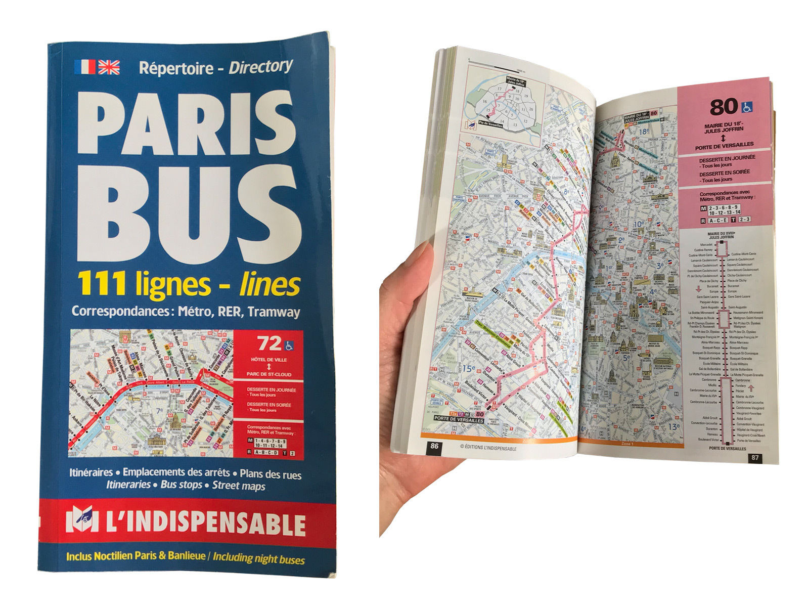 Paris パリ バス80番の旅_c0176078_17534472.jpg