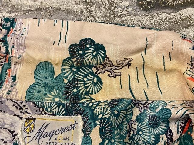 5月23日(土)11:30~マグネッツ大阪店オンラインストア夏物ヴィンテージ入荷!!#1 Vintage Hawaiian Shirt!!_c0078587_15371812.jpg