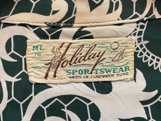 5月23日(土)11:30~マグネッツ大阪店オンラインストア夏物ヴィンテージ入荷!!#1 Vintage Hawaiian Shirt!!_c0078587_16442133.jpg