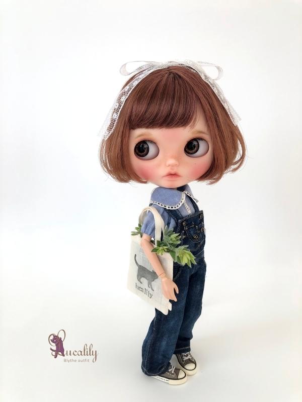 *lucalily * dolls clothes* Denim salopette pants set *_d0217189_17204796.jpg