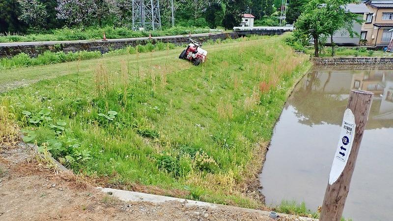 少し時間が空いて・・・河川堤防も草刈り作業!_c0336902_19235017.jpg