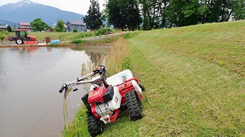 少し時間が空いて・・・河川堤防も草刈り作業!_c0336902_19235532.jpg
