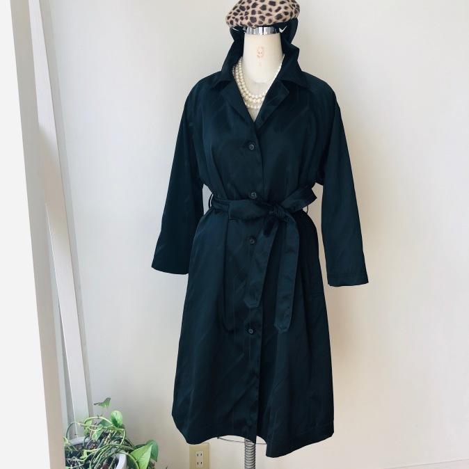 着物着物リメイク/雨コートからトレンチコート_d0127925_10063699.jpg