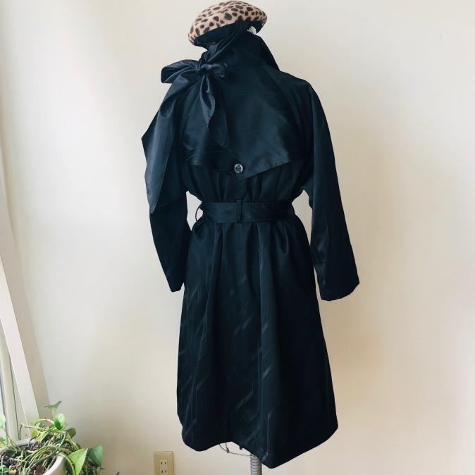 着物着物リメイク/雨コートからトレンチコート_d0127925_10063969.jpg