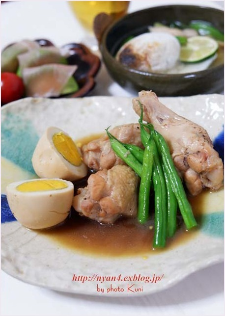 無性に食べたくなるおかず(鶏手羽元とゆで卵の煮物)_f0166234_18064423.jpg