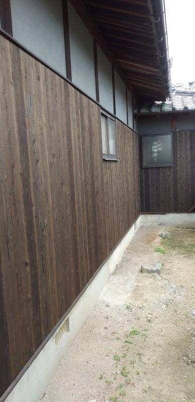 松山市 M様邸 外部他改修工事_a0167735_15544444.jpg