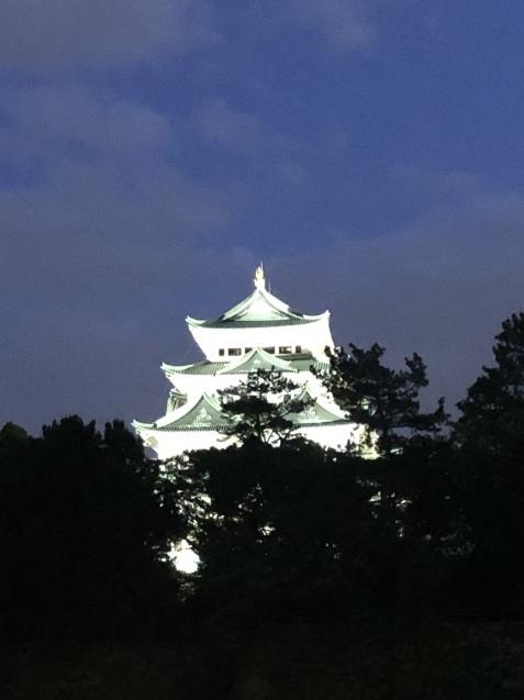夜の名古屋城へ〜_e0379544_10240572.jpeg